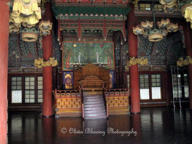 Seoul Throne ROom